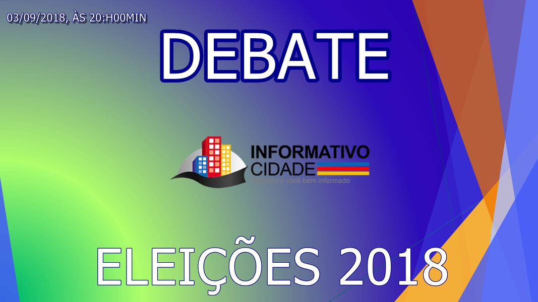Jornal Informativo Cidade irá transmitir nesta segunda-feira o debate entre candidatos a Governo de Mato Grosso do Sul
