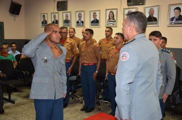 IVINHEMA: Tenente Eliel assume o comando dos Bombeiros