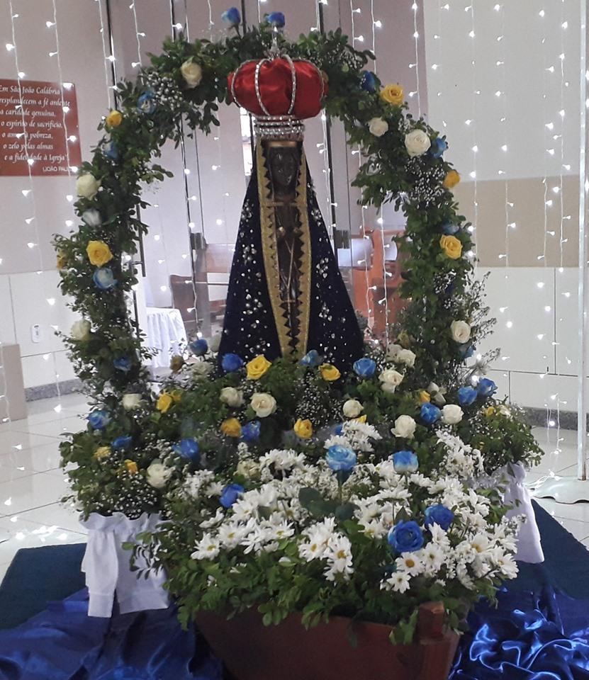 Diversas manifestação de fé foram realizada em honra a Nossa Senhora Aparecida em Taquarussu