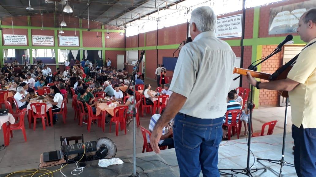 Paróquia de Taquarussu realiza festa social em honra a Nossa Senhora Aparecida