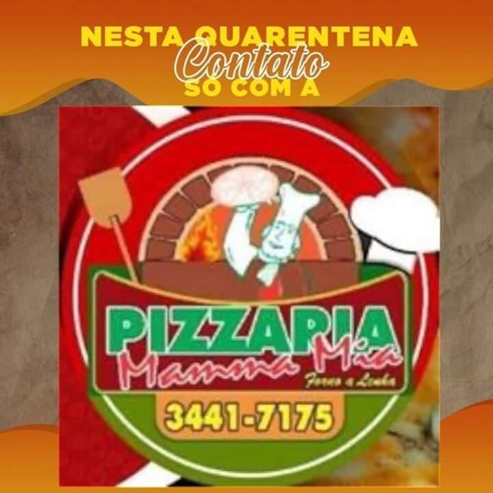Fim de semana é dia de pizza em família, então vem para Mamma Mia Pizzaria