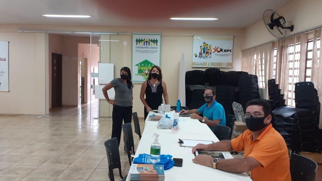 Cras realiza atualização de cadastro das pessoas de baixa renda em Taquarussu
