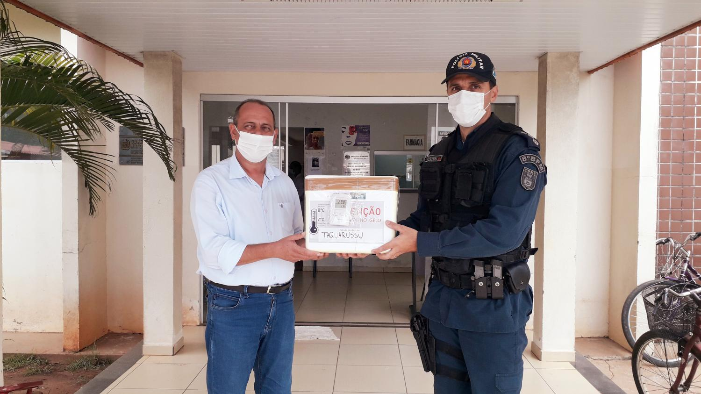 Taquarussu recebe novo lote de vacinas contra Covid-19
