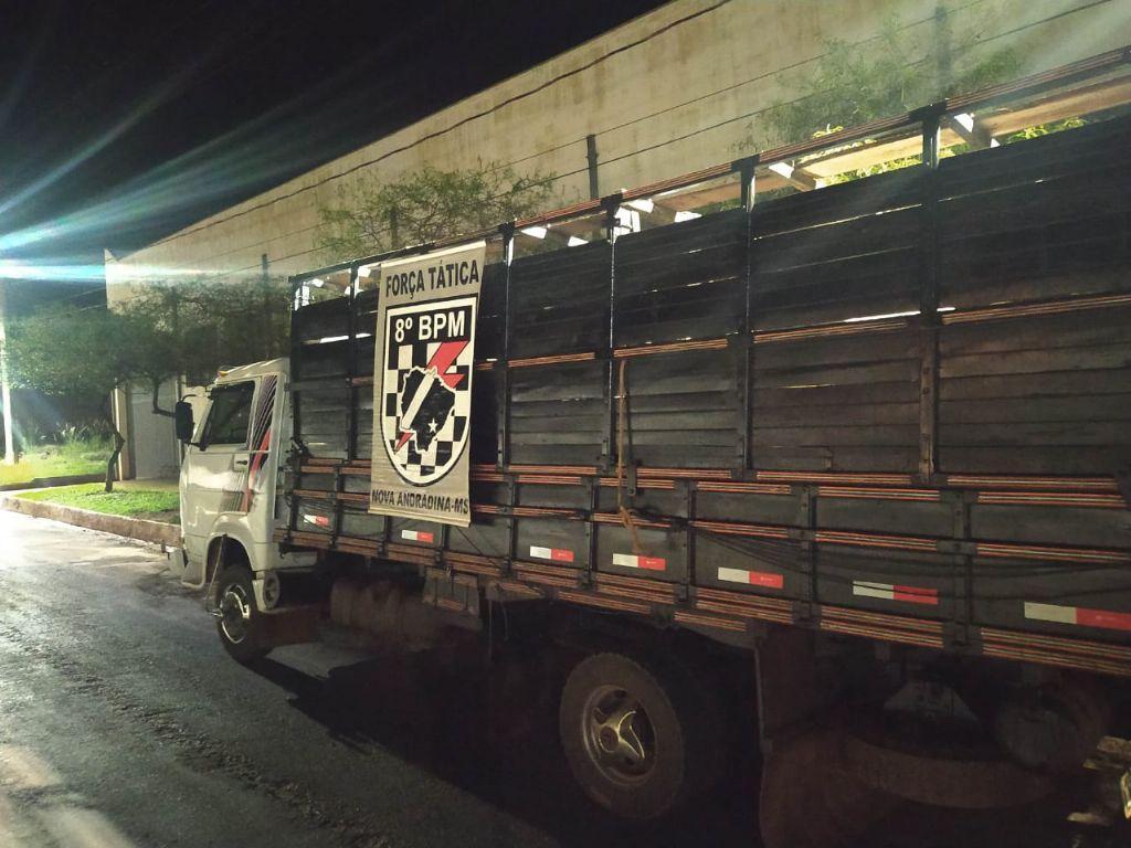 Força Tática recupera gado furtado de fazenda em Nova Andradina
