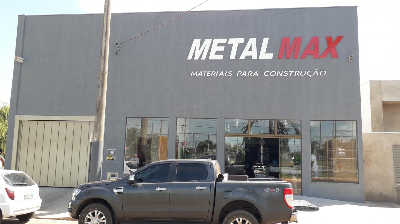 Inaugura nesta segunda-feira, novo prédio da Metal Max em Taquarussu